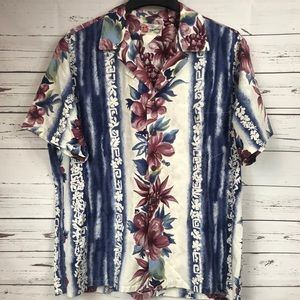 Mens Hawaiian Shirt Size XL EUC